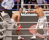 Roy Jones vs Zine Eddine — Stock Photo
