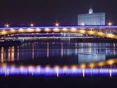 Nacht-Moskau — Stockfoto