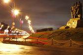 Le strade di minsk — Foto Stock