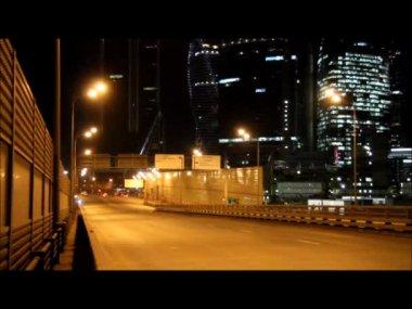 街の灯to světla — ストックビデオ