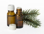 Fir essential oil — Stock Photo