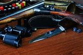Hunting equipment — Stock Photo