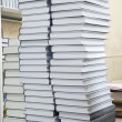 Tall stacks of thick books — Stock Photo #30487855