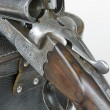Mechanism of hunting gun — Stock Photo