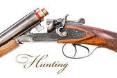 Mechanism of hunting rifle — Stock Photo