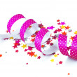 Confetti and ribbon — Stock Photo #38547939