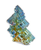 Crystals of bismuth — Stock Photo