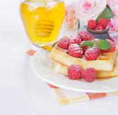 Sobremesa — Fotografia Stock