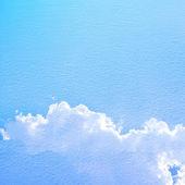 美しい青空の背景 — ストック写真