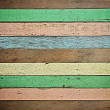 Retro colorful wood texture — Stock Photo