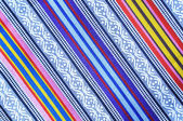 Colorful fabric texture — Stock Photo
