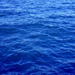Blue sea water — Stock Photo
