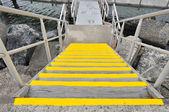 Yellow staircases — Stock Photo