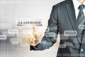 Przywództwo znak — Zdjęcie stockowe