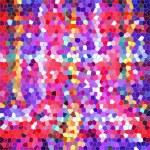 Colorful mosaic style background — Stock Photo