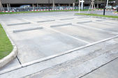 Enpty car park — Foto Stock