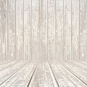 Old scratched wooden room background — Stock Photo