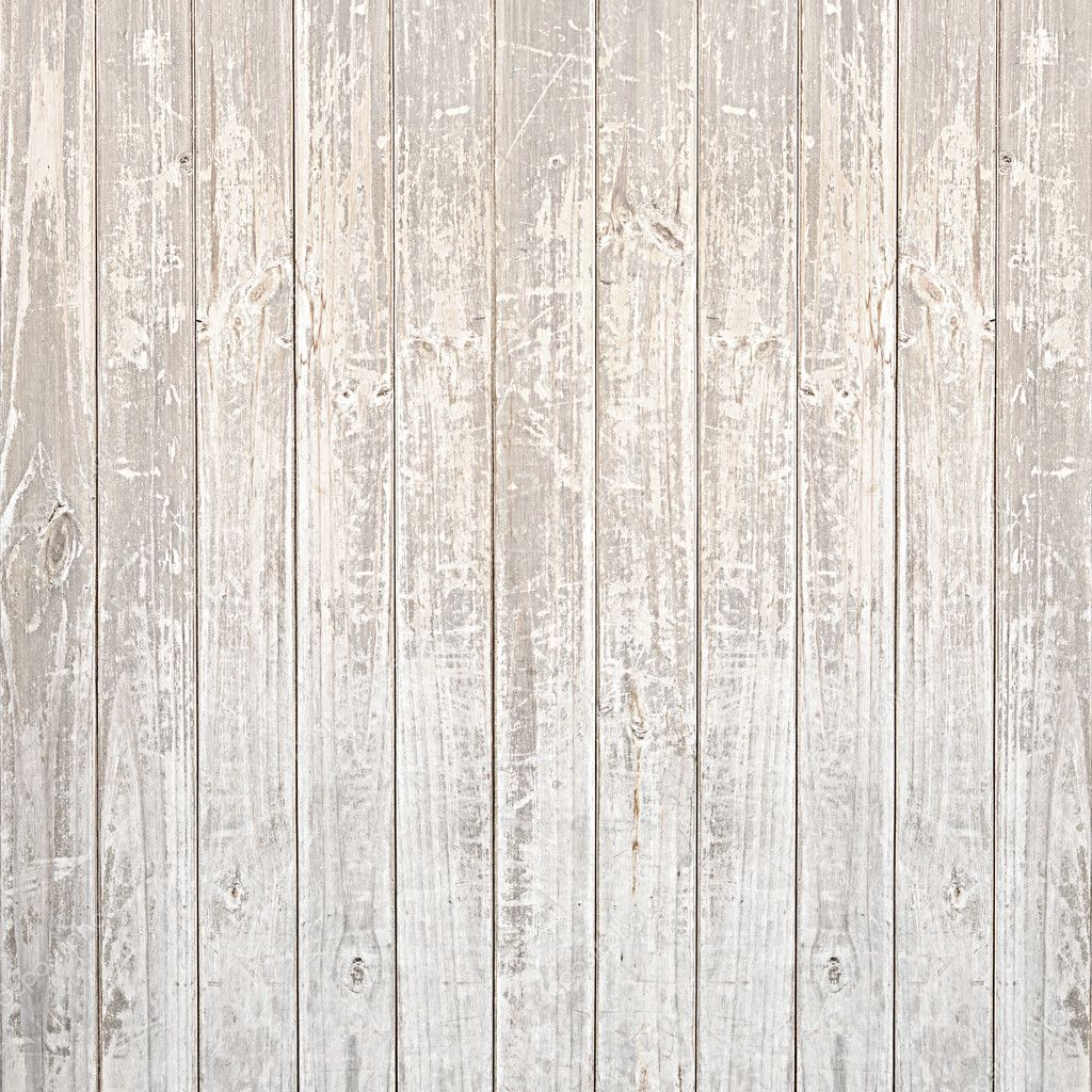 Old Scratched Light Wood Texture Background Stock Photo