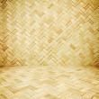 Wicker texture room as background — Stock Photo #44524465