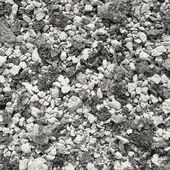 Crushed gravel with asphalt — Stock Photo