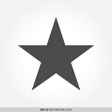 Star vector icon