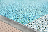 Water in swimming pool  — Stock Photo