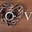Love coffee — Stock Photo #24773377