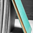 Turquoise book - Stock Photo