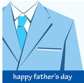 Happy father day greeting — Stock Vector