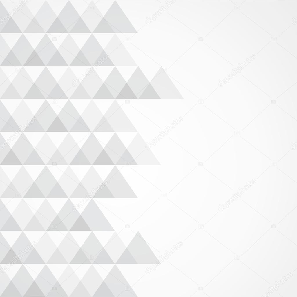灰色的三角形背景 — 图库矢量图片