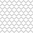 Abstract square paper cut pattern background - Vettoriali Stock