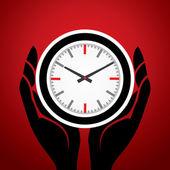 Zaman para kavramdır — Stok Vektör