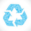 Recycle symbol - Vettoriali Stock