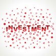 Royalty-Free Stock Vector Image: Investment word