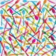 Royalty-Free Stock Vectorielle: Colorful forks background
