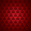 Seamless  red wallpaper - Stock Vector