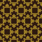 Classic Pattern Vintage Background — Vetor de Stock