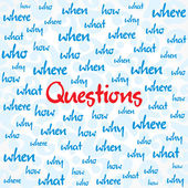 Question background — Stock Vector