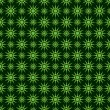 Royalty-Free Stock Vector Image: Seamless pattern with green circles