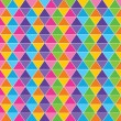 Colorful triangle background stock vector — Stock Vector