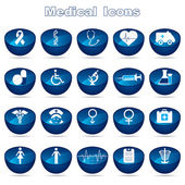 Medical Icons — Stok Vektör