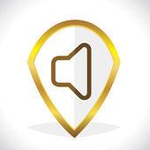 Mute Icon Design — Stock Vector
