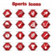 Royalty-Free Stock Vector Image: Set of Sports Icons