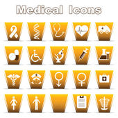 Medical Icons — Vettoriale Stock