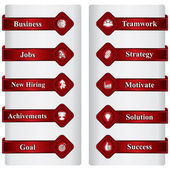 Negócios e se relacionam o ícone ou sinal — Vetorial Stock