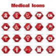 Set of Medical or Healthcare Icons - Stock Vector