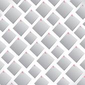 белые бумаги примечание — Cтоковый вектор