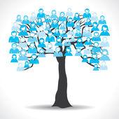 Make a tree — Stock Vector