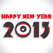 Happy new year — Imagen vectorial