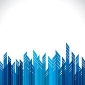 Abstract building block — Stock Vector